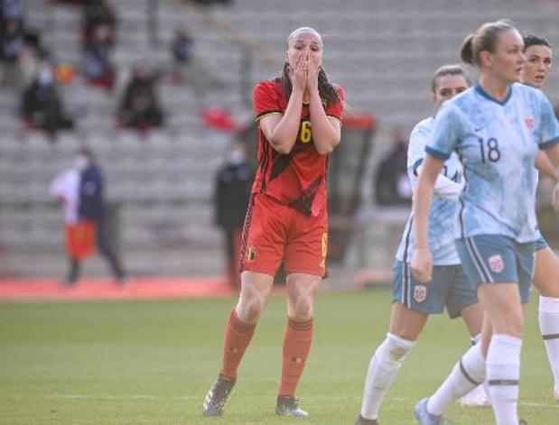 Red Flames gaan in oefeninterlands ook tegen Noorwegen onderuit
