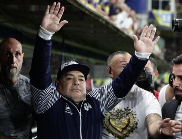 Coronavirus - Le championnat argentin officiellement terminé, le club de Maradona sauvé
