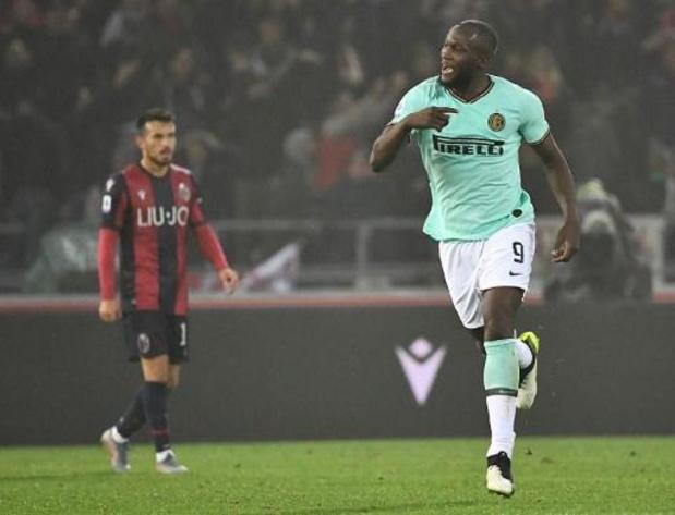 Belgen in het buitenland - Romelu Lukaku loodst Inter voorbij Bologna