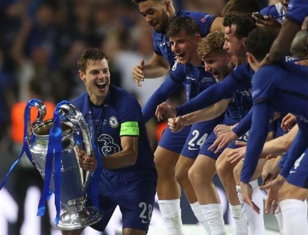 """Champions League - Azpilicueta """"schrijft geschiedenis"""" met Chelsea"""
