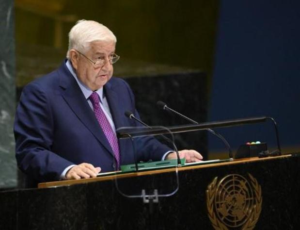 Geweld Syrië - Syrië eist dat VS en Turkije land verlaten en dreigt met tegenmaatregelen