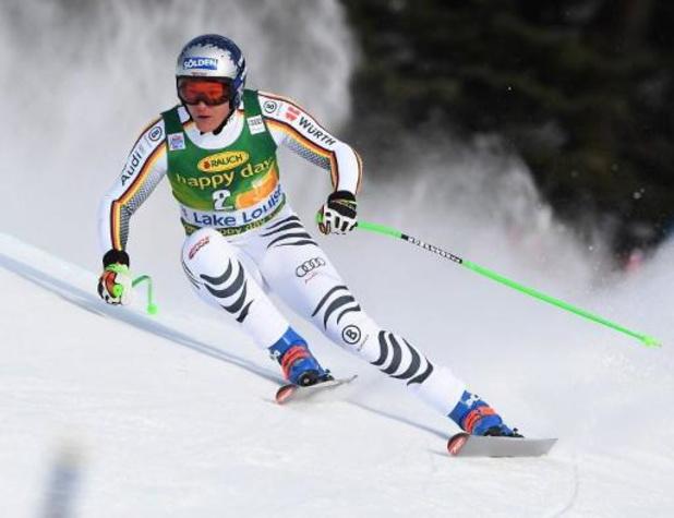WB alpijnse ski - Thomas Dressen wint bij rentree jaar na crash