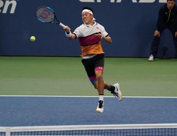 ATP Cincinnati - Nishikori geeft forfait na positieve coronatest