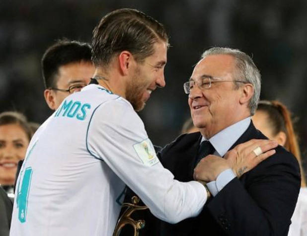 """Sergio Ramos au club pour le reste de sa vie"""