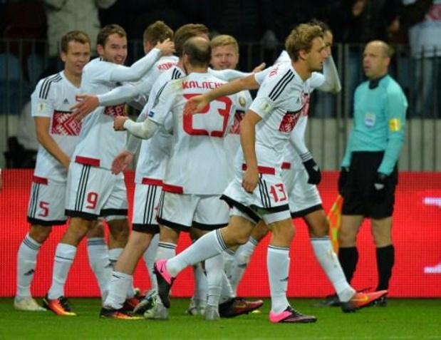 Kwal. WK 2022 - Wit-Rusland verslaat Estland in groep van België
