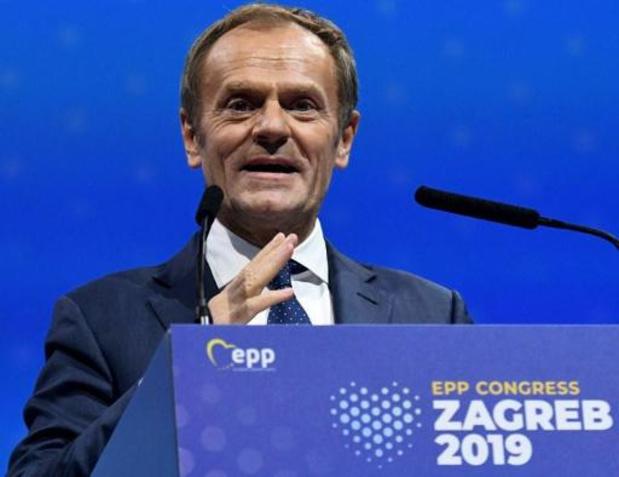 EVP-voorzitter Tusk wil tegen eind januari beslissen over lot Viktor Orban
