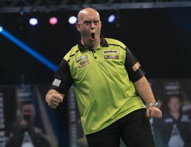World Matchplay Darts - Michael van Gerwen naar kwartfinales