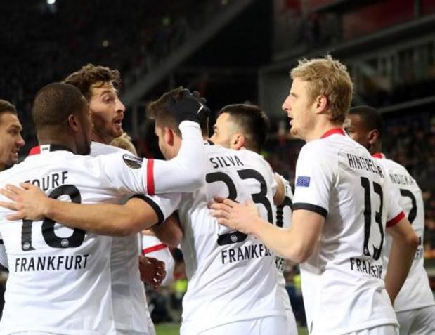 Coronavirus - Un joueur de l'Eintracht Francfort testé positif