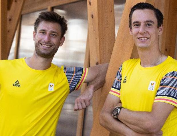 """Gille et Vliegen, qui entament leurs premiers Jeux: """"Nous n'avons rien à perdre"""""""