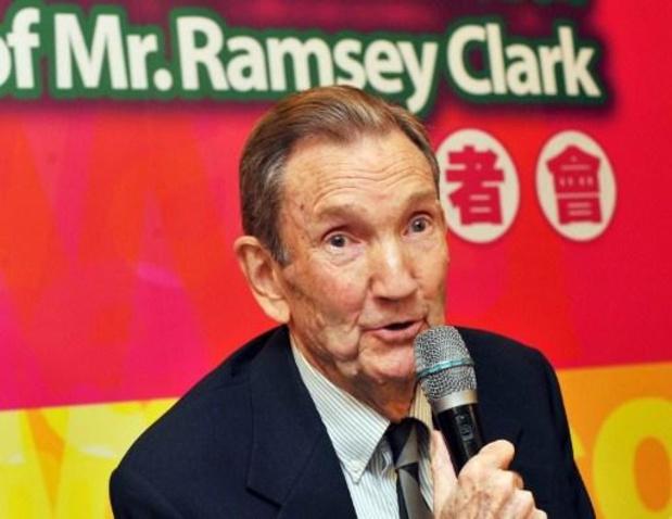 Ramsey Clark, ex-ministre américain de la Justice et avocat de Saddam Hussein, est mort