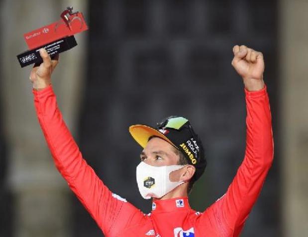 """Vuelta - Roglic etaleert goede vorm: """"Prachtig begin"""""""