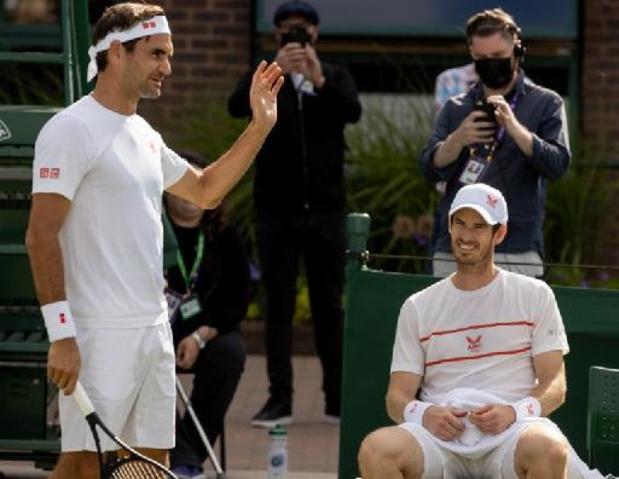 """""""Je suis gonflé à bloc"""", annonce Roger Federer à Wimbledon"""