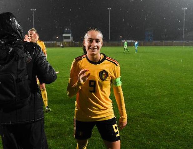 Red Flames : Tessa Wullaert veut jouer plus souvent à Manchester City