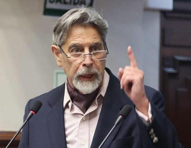 Francisco Sagasti wordt nieuwe interim-president van Peru