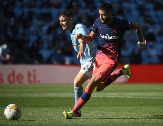 Les Belges à l'étranger - Carrasco gagne avec l'Atletico, De Bruyne reprend doucement contre Tottenham