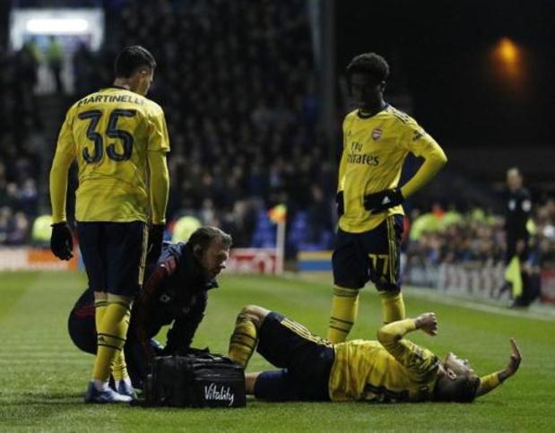 Lucas Torreira souffre d'une fracture de la cheville