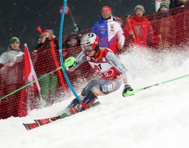 Coupe du monde de ski alpin - Henrik Kristoffersen remporte le slalom de Schladming pour la 4e fois