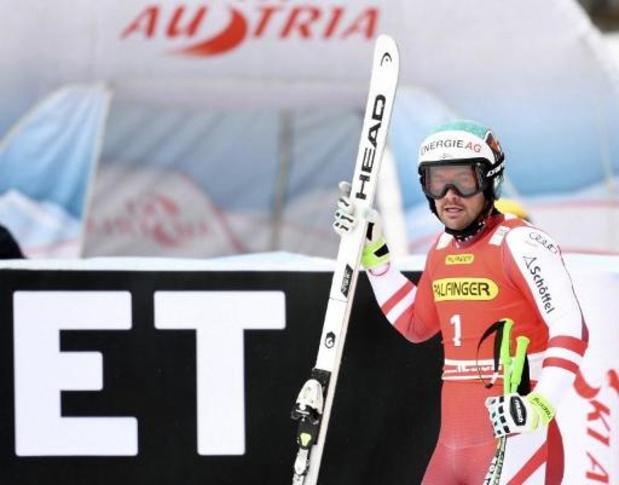 WB alpijnse ski - Wereldkampioen Kriechmayr skiet naar winst in afdaling van Saalbach-Hinterglemm