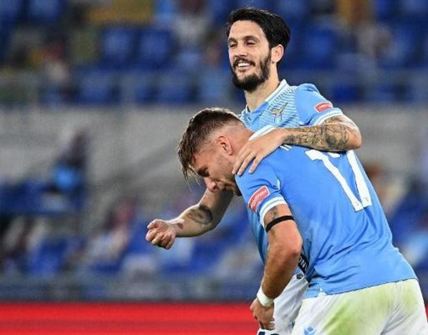 Serie A - Immobile revient de quarantaine et permet à la Lazio de l'emporter