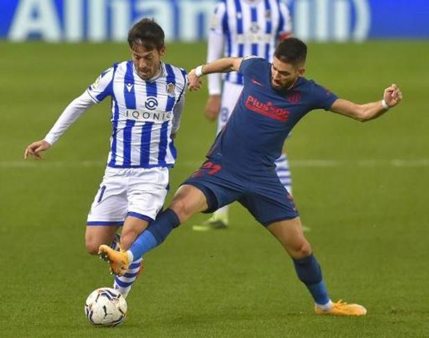 Les Belges à l'étranger - Succès de l'Atletico Madrid et Carrasco face à la Real Sociedad, privé de Januzaj