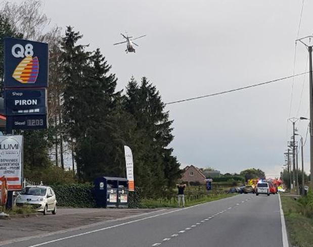 Grave accident sur la N80 à Ciplet: deux victimes transportées en milieu hospitalier