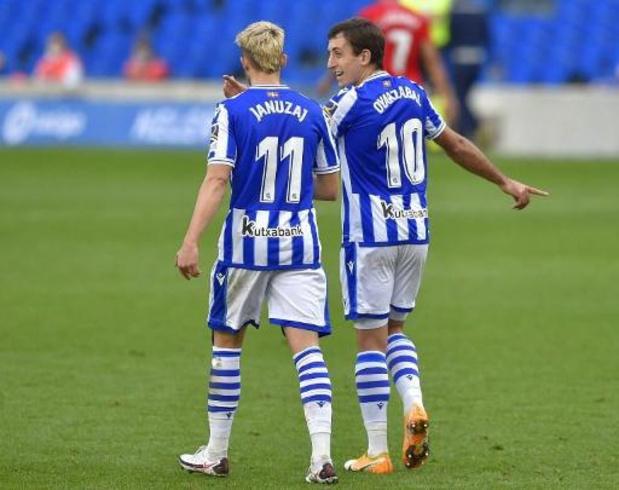 Les Belges à l'étranger - La Real Sociedad, avec Januzaj en fin de match, cartonne face à Alaves