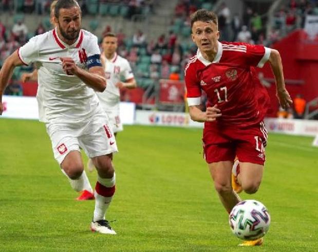 Diables Rouges - La Russie, premier adversaire des Diables à l'Euro, partage contre la Pologne