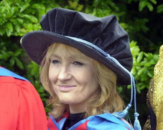 JK Rowling schenkt een miljoen pond aan liefdadigheidsorganisaties