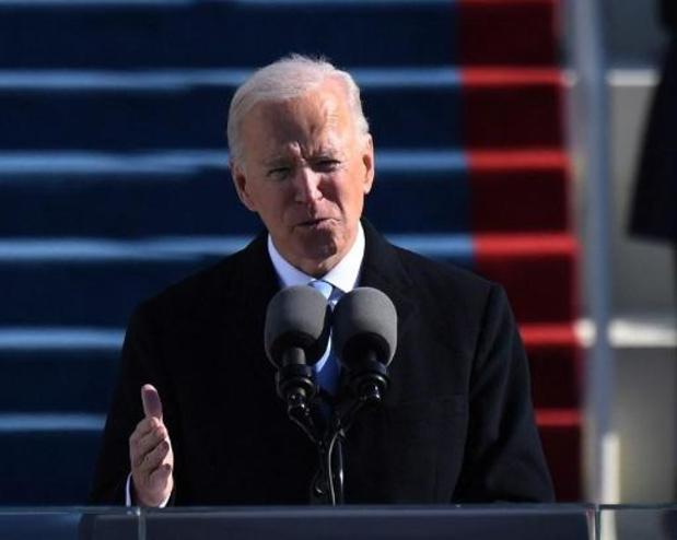"""Biden: """"Eenheid heeft het tijdens hele Amerikaanse geschiedenis gehaald van verdeeldheid"""""""