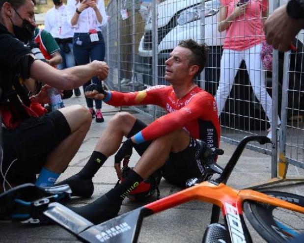 La 9e étape au sommet du Alto de Velefique pour Caruso, Primoz Roglic reste maillot rouge