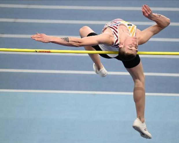 Thomas Carmoy verovert brons in hoogspringen