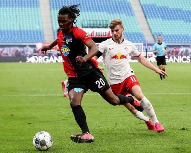Boyata en Lukebakio pakken met Hertha punt bij RB Leipzig