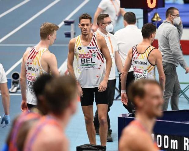 Championnats d'Europe d'athlétisme en salle - Les Tornados terminent au pied du podium