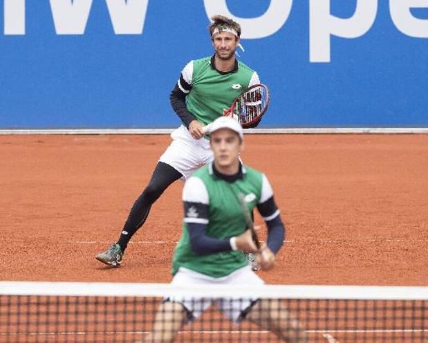 ATP Parma - Sander Gillé en Joran Vliegen naar kwartfinales dubbelspel