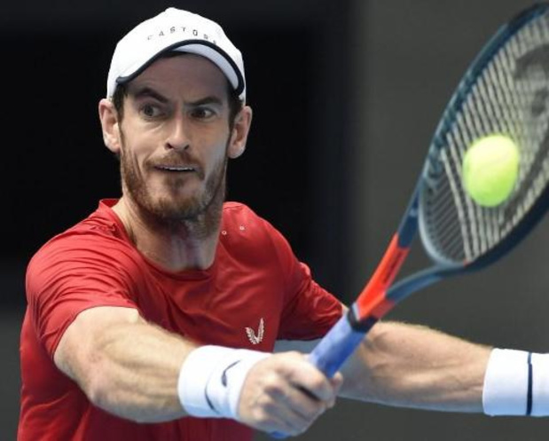 Andy Murray is niet opgewassen tegen eerste reekshoofd Thiem