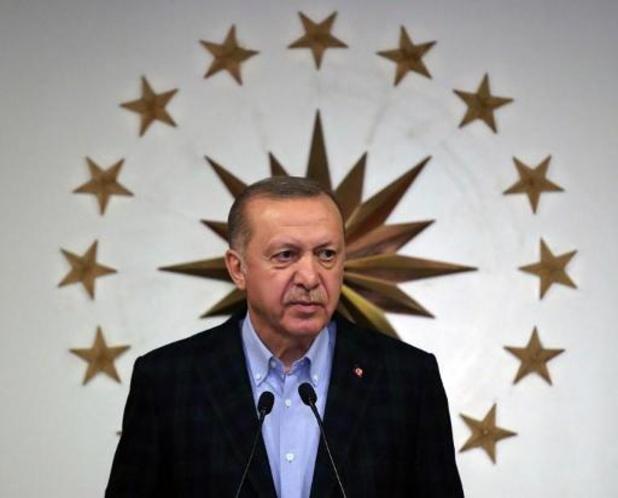 Coronavirus - Erdogan kondigt nieuwe vierdaagse lockdown aan