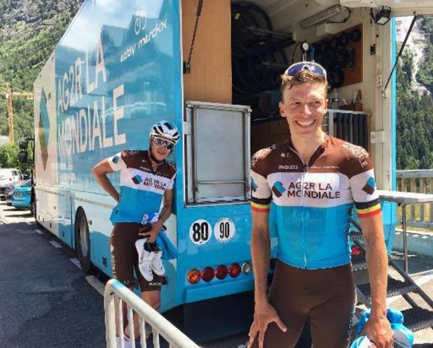 Oliver Naesen pense participer aux championnats d'Europe malgré le Tour de France
