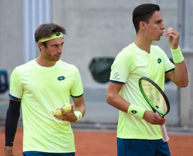 ATP Saint-Pétersbourg - Vliegen et Gillé éliminés au premier tour
