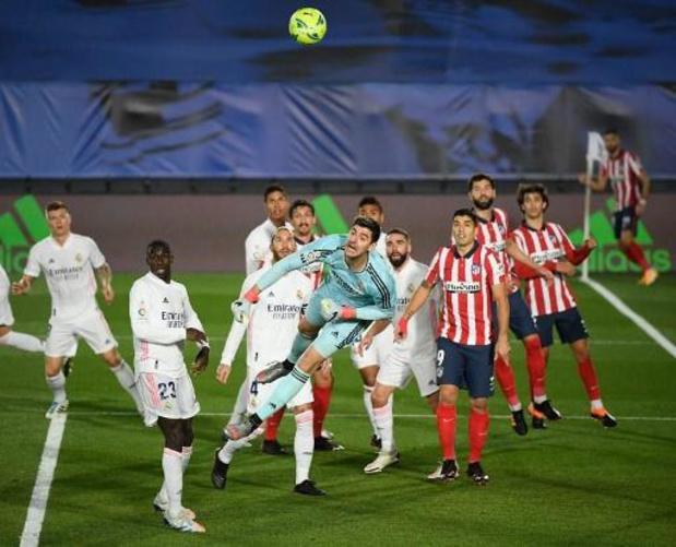 Belgen in het buitenland - Real Madrid heeft weinig overschot tegen tien spelers van Athletic