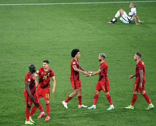 Euro 2020 - Les chiffres de la victoire létale des Diables Rouges contre le Portugal