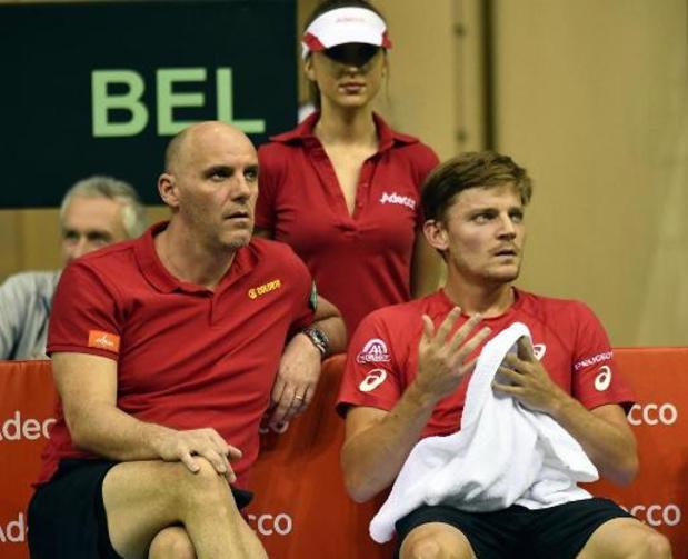 Van Herck selecteert Goffin, Coppejans, Darcis en dubbelduo Gillé/Vliegen voor Davis Cup