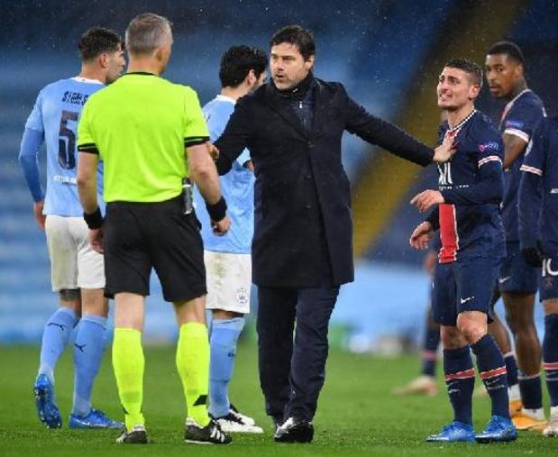 Ligue des Champions - L'arbitre aurait insulté des joueurs du PSG, affirment Herrera et Verratti
