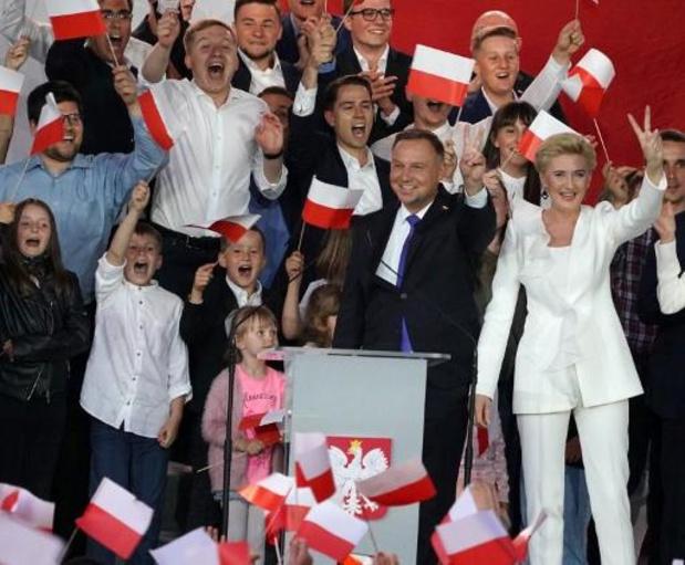 Presidentsverkiezingen Polen - Duda vergroot voorsprong een beetje in nieuwe exitpoll