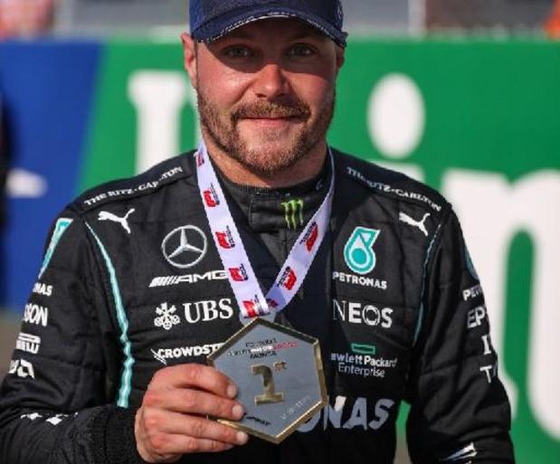 F1 - GP van Italië: Valtteri Botas wint sprintrace, maar pole is voor Max Verstappen