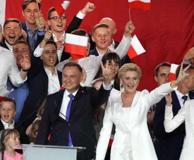 Presidentsverkiezingen Polen - Duda en Trzaskowski nek-aan-nek - Duda eist zege op
