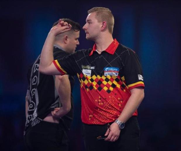 Van den Bergh strandt in kwartfinales op WK darts
