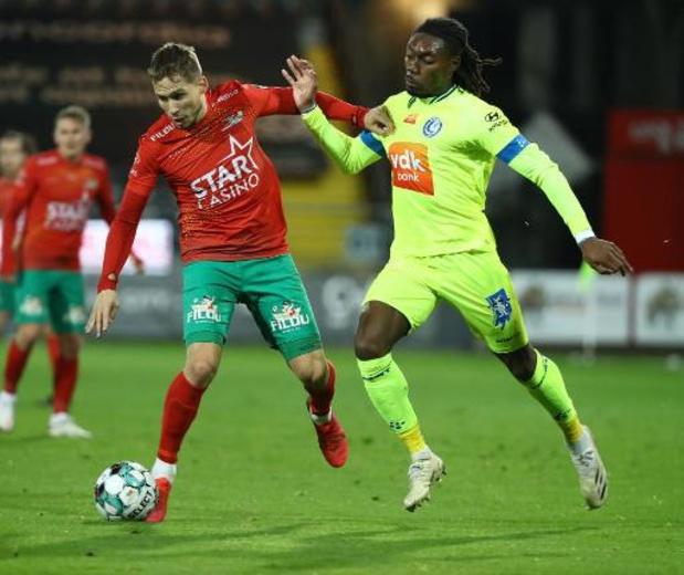 Jordan Botaka (La Gantoise) prêté à Charleroi jusqu'à la fin de la saison