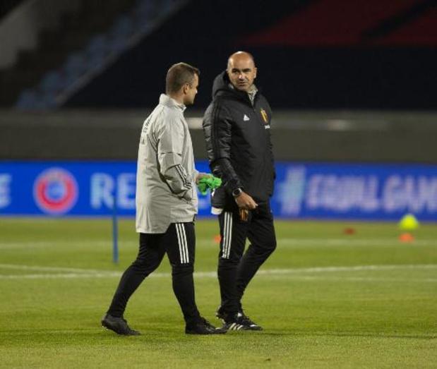 """Rode Duivels - Roberto Martinez verwacht """"dat andere spelers hun verantwoordelijkheden zullen nemen"""""""