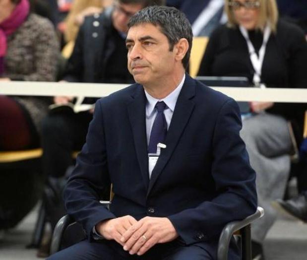 Espagne: l'accusation de rébellion abandonnée contre l'ex-chef de la police catalane