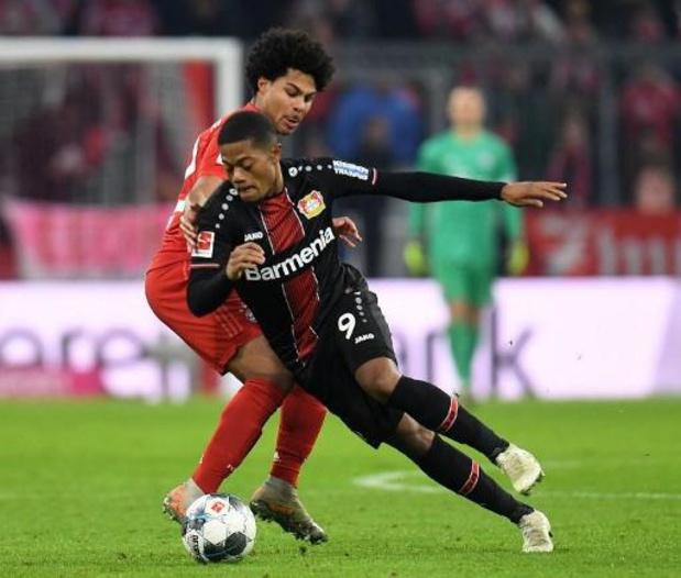 Bundesliga - Le Bayern Munich battu à domicile par Leverkusen sur un doublé de Bailey